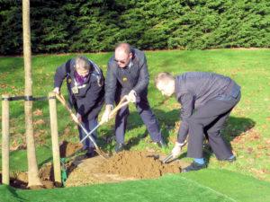 Councillors plant trees